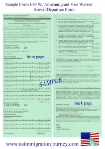 sample-I-94W-form