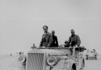 General Erwin Rommel 15. Panzerdivision zw. Tobruk und Sidi Omar 1941